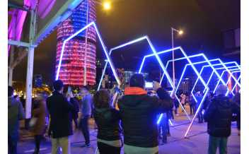 Festival Llum BCN, Light Festival, Barcelona: Every February