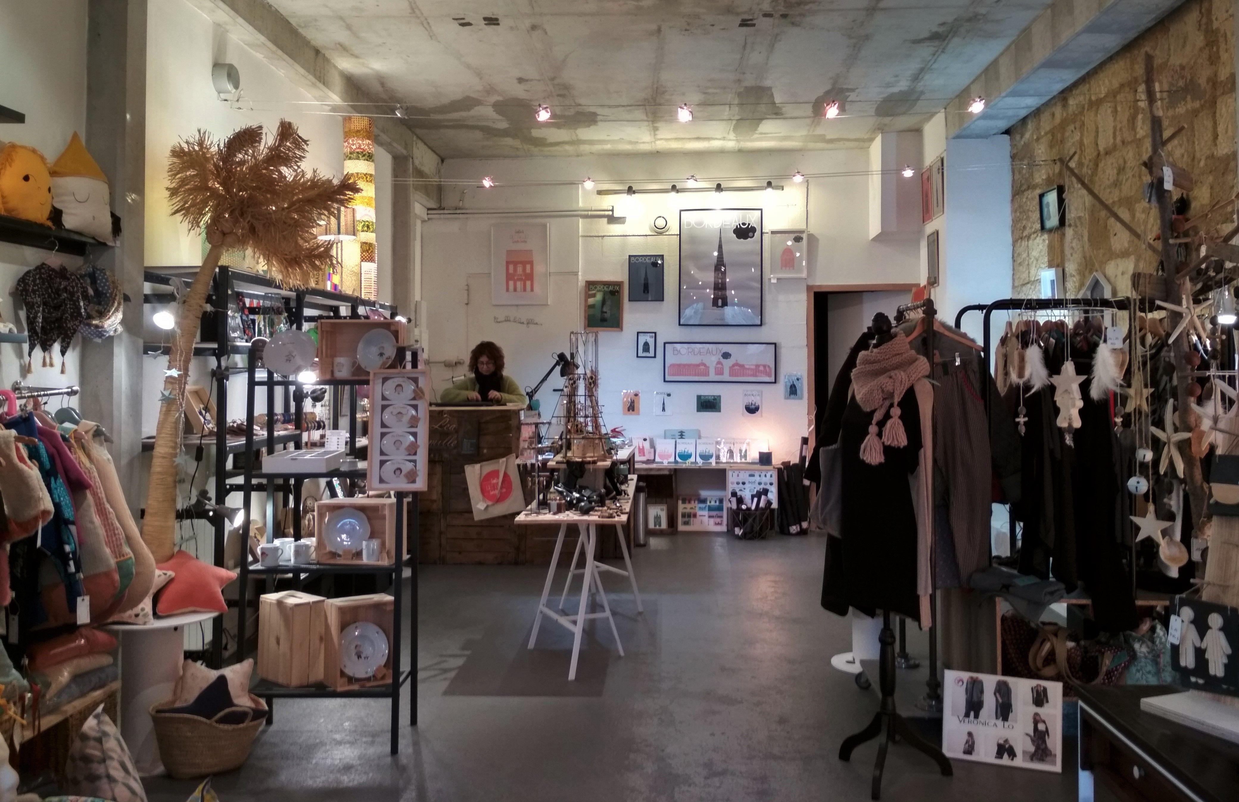 Camille & Les Filles, Boutique, Bordeaux