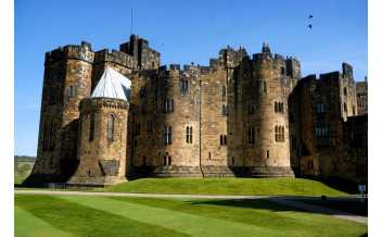 Alnwick Castle, Estates Office, Alnwick, Scotland