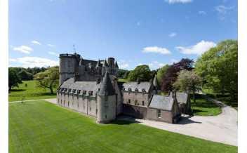 Castle Fraser, Sauchen, Inverurie, Scotland