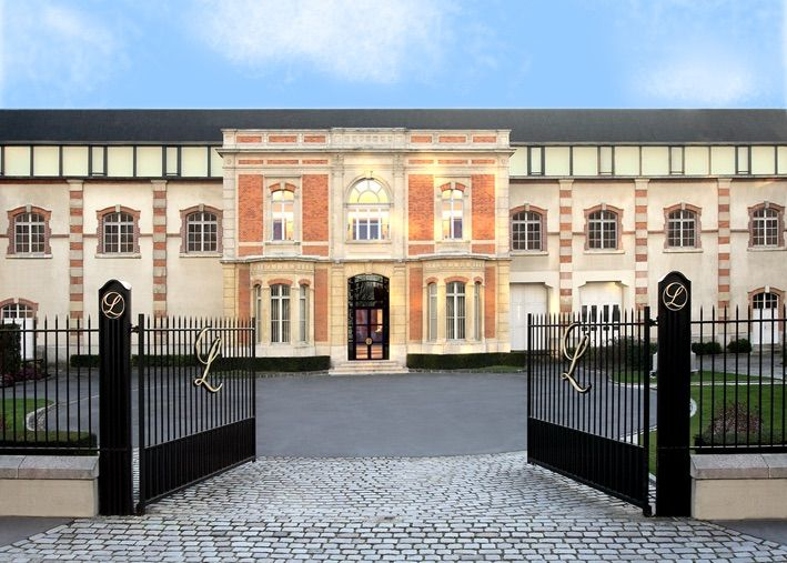Champagne Lanson, Reims, France © Champagne Lanson
