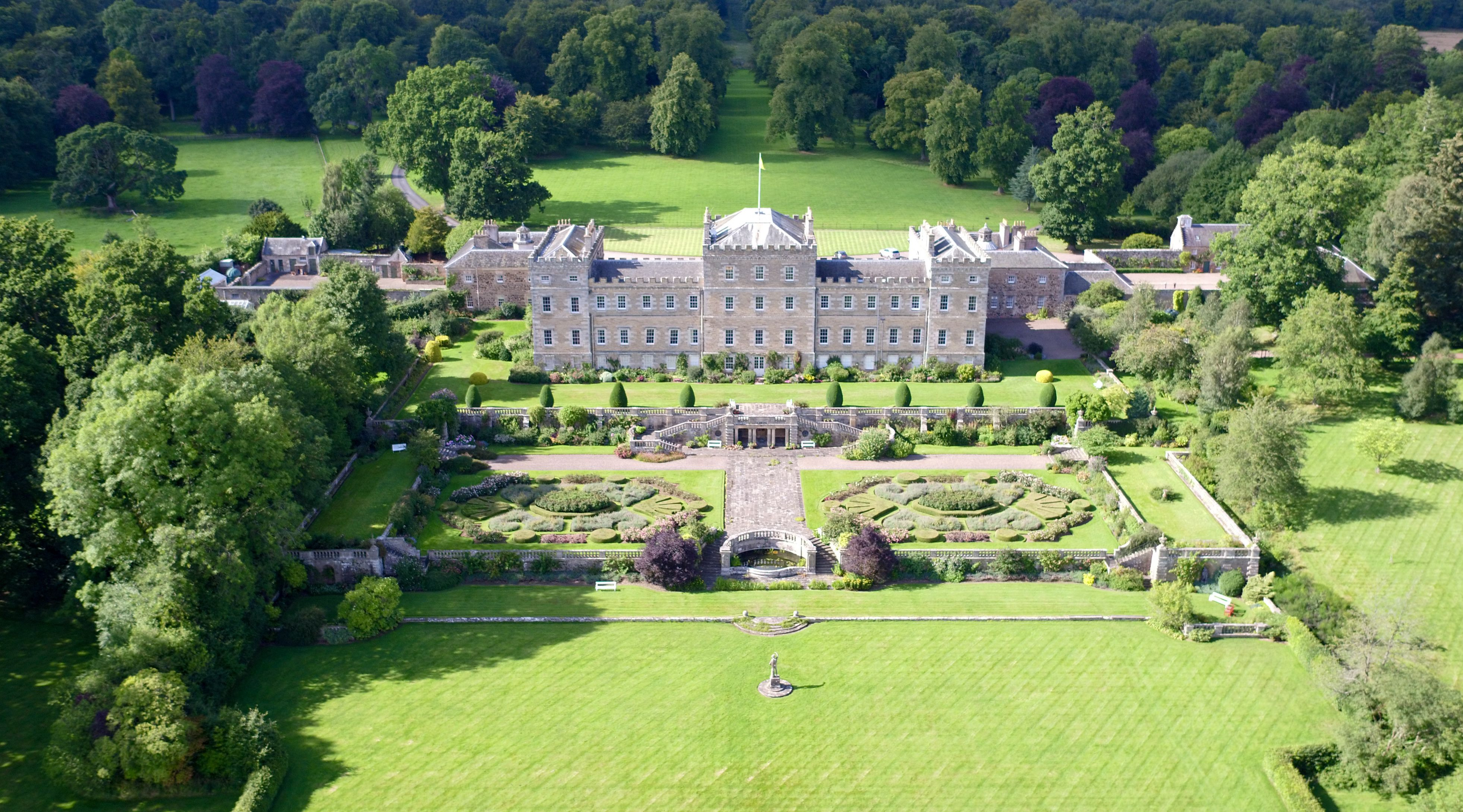 Mellerstain House, Gordon, Berwickshire, Scotland