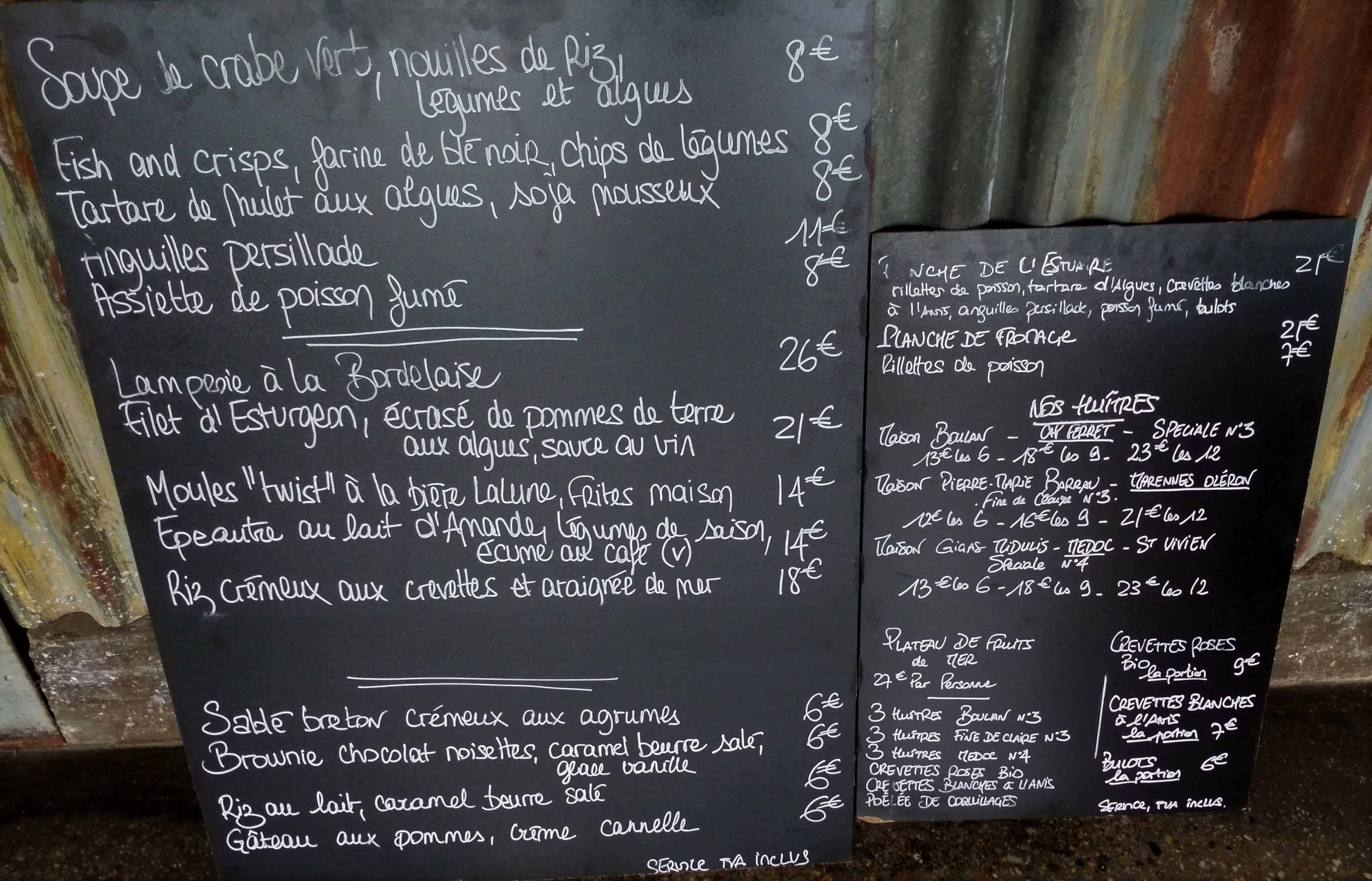 Les Chantiers de la Garonne, Restaurant, Bordeaux