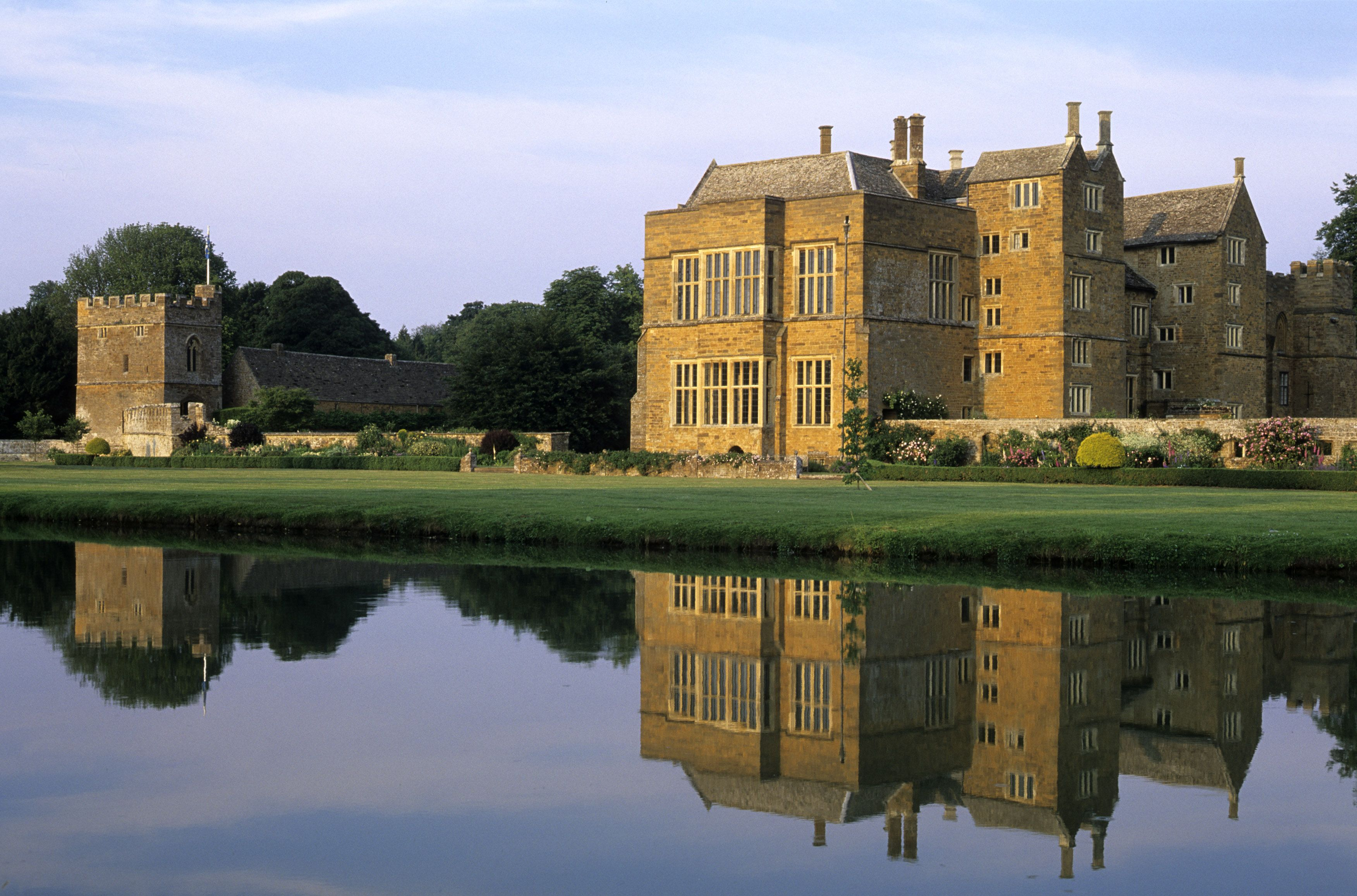 Broughton Castle, Oxfordshire, England