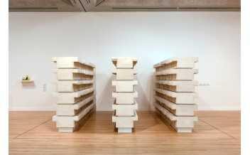 "Rachel Whiteread, ""Untitled (Book Corridors)"", 1997 © Tate"