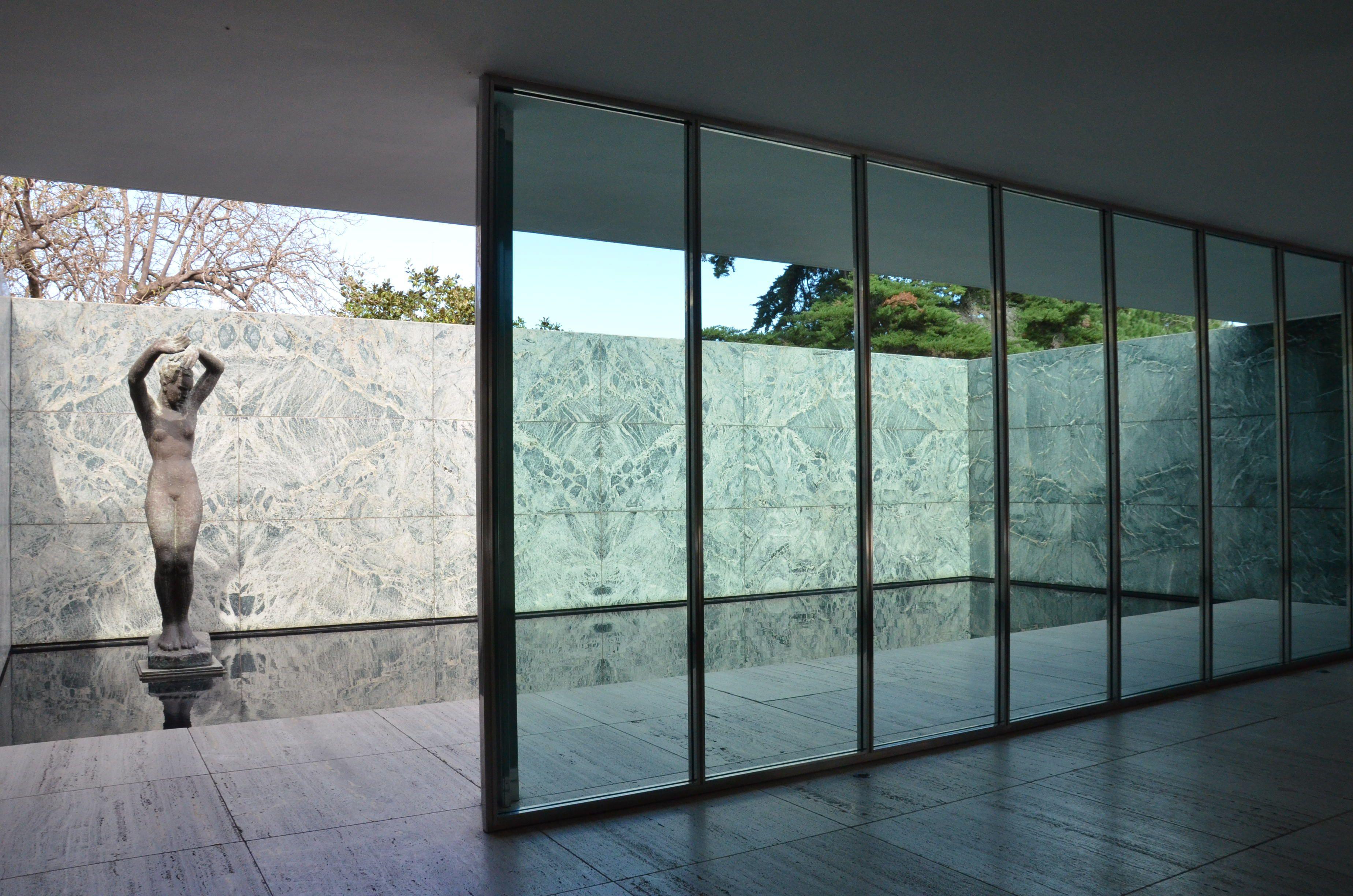 Mies Van Der Rohe Pavillion Barcelona All Year