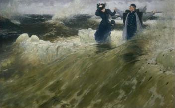 Il'ja Repin, Che vastità!, oli on canvas, 1903, ©State Russian Museum, St. Petersburg