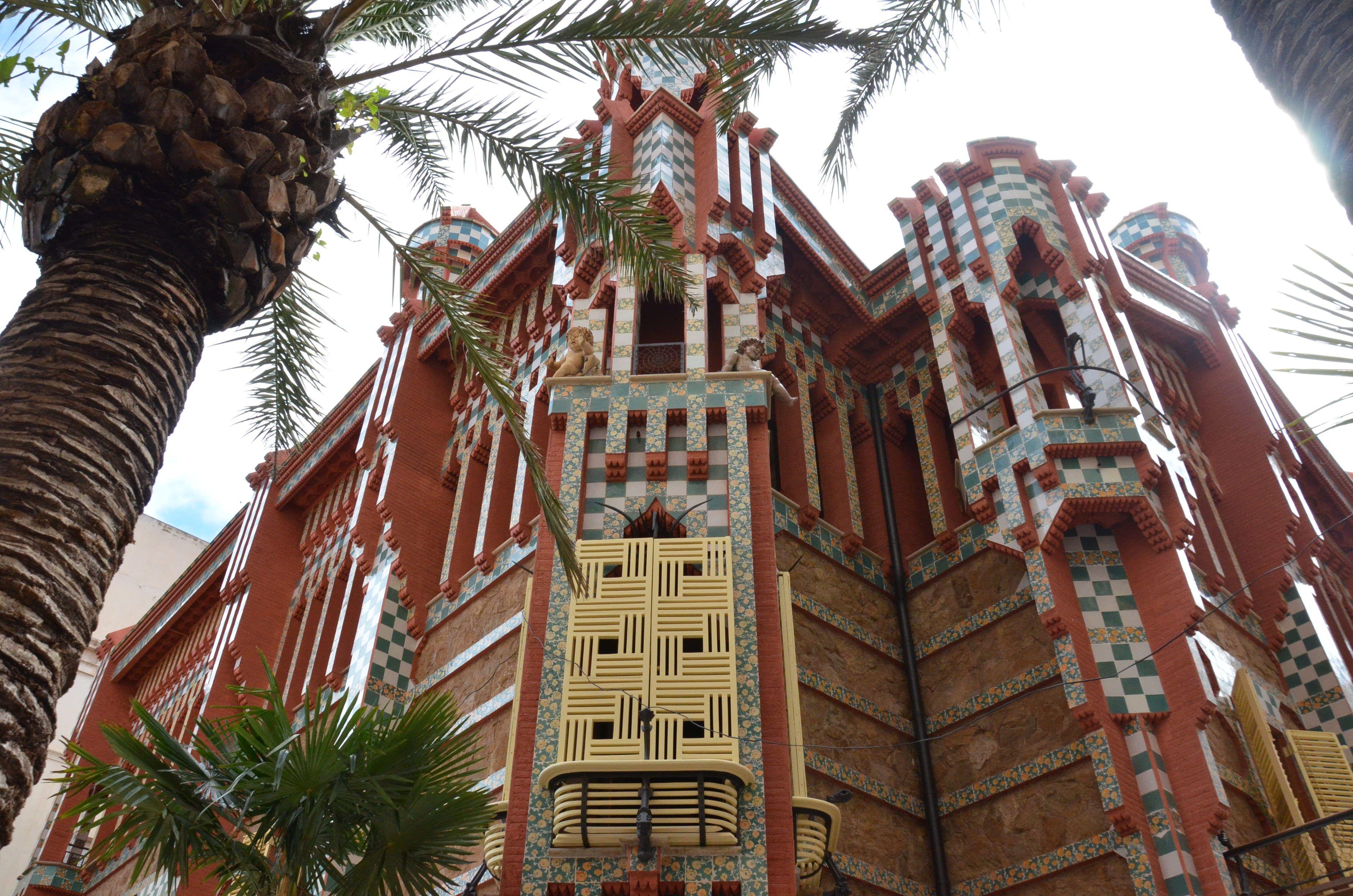 Casa Museo Gaudi.Casa Vicens Gaudi House Museum Barcelona All Year