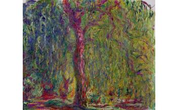 Claude Monet (1840-1926) Weeping Willow, 1918-1919 Oil on Canvas, 100x120 cm Paris, Musée Marmottan Monet © Musée Marmottan Monet, paris c Bridgeman-Giraudon / presse