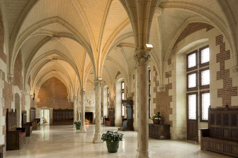 Amboise Castle, Montée de l'Emir Abd el Kader, Amboise, France