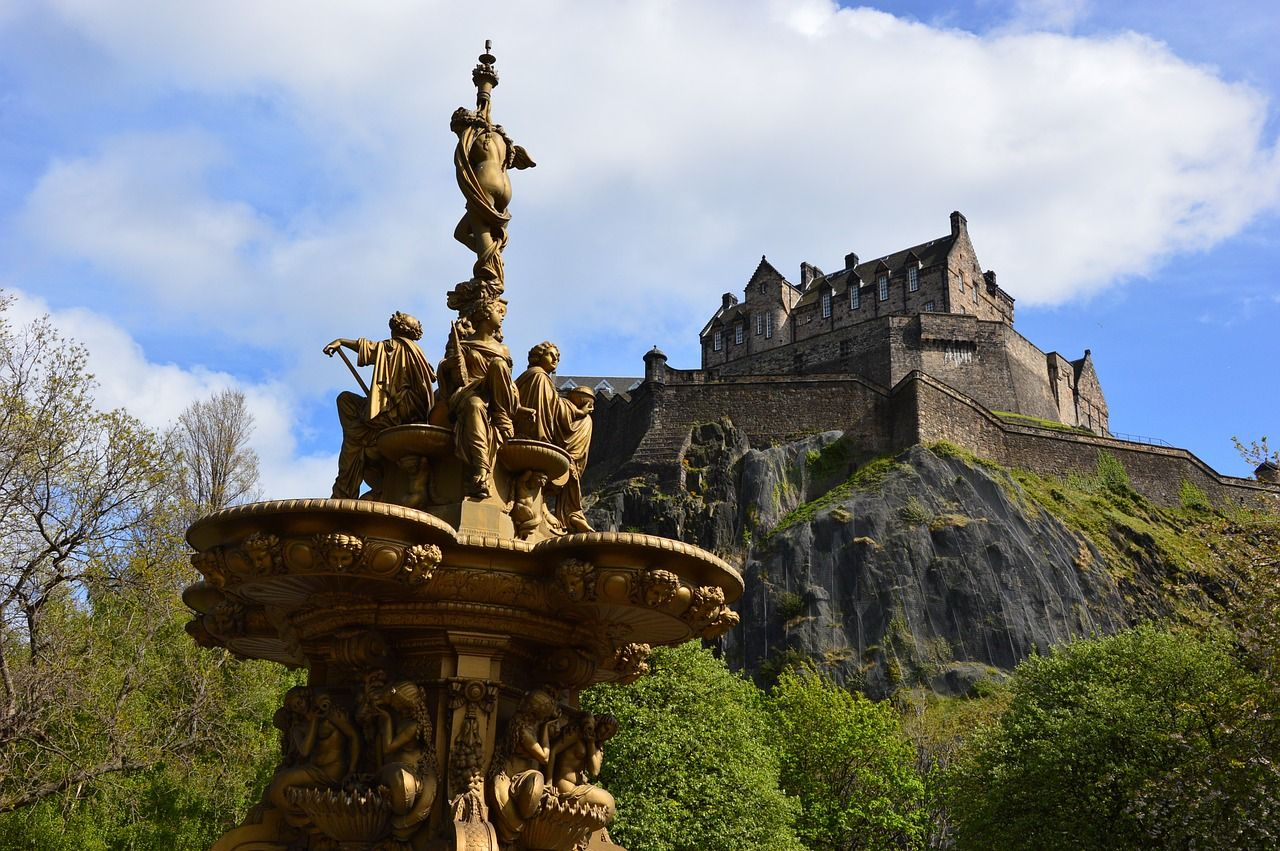 Edinburgh Castle: All year