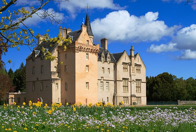 Brodie Castle, Forres, Moray, Scotland