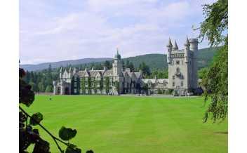 Balmoral Castle, Balmoral Estates, Ballater, Scotland