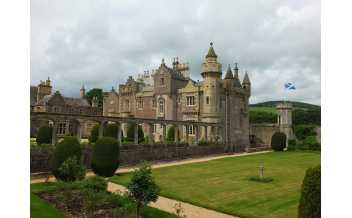 Abbotsford House, Melrose, Roxburghshire, Scotland