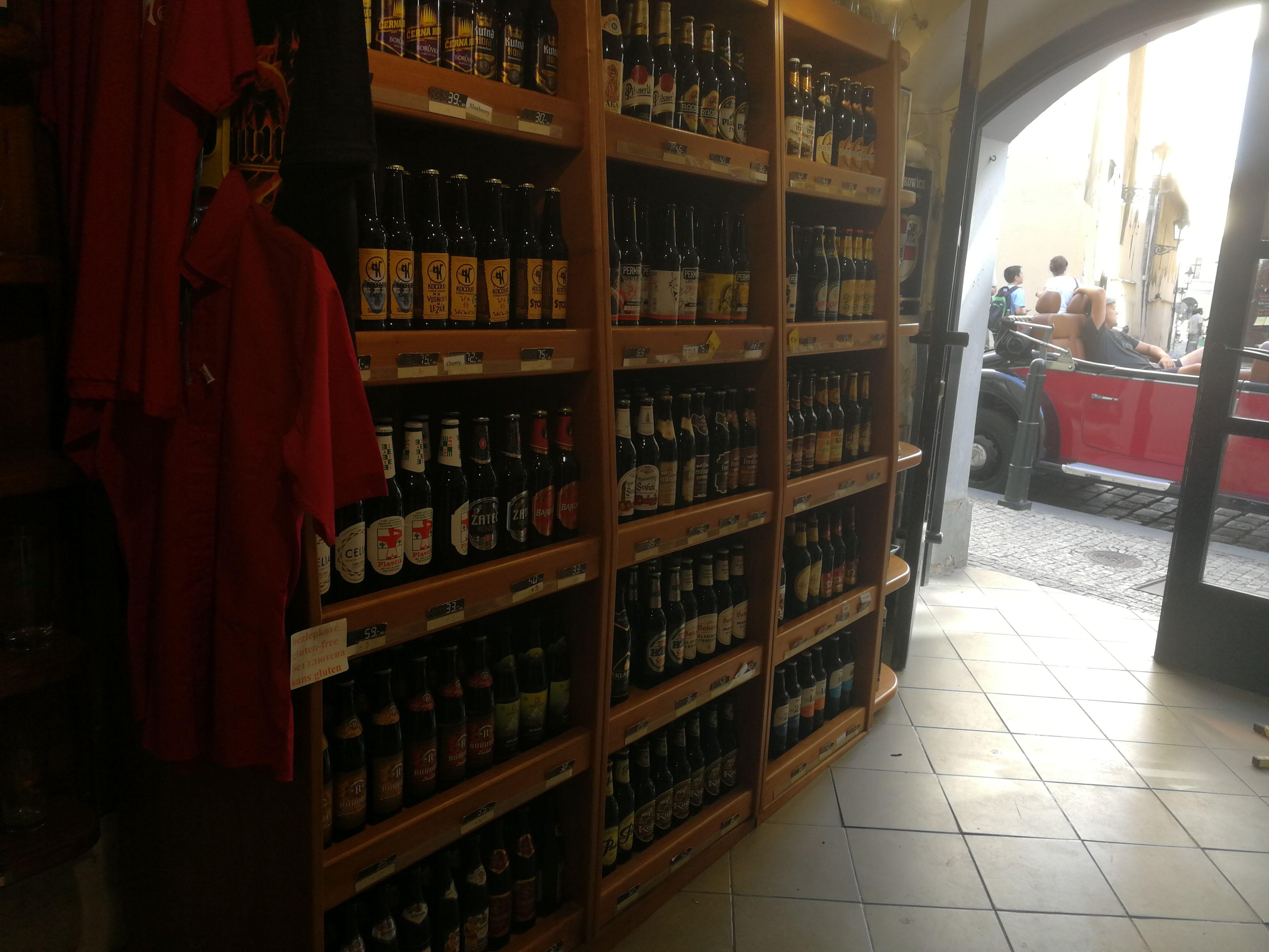 Czech Beer Shop, Prague