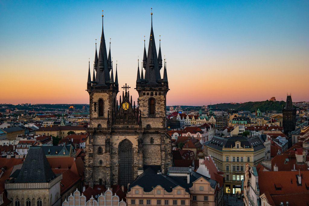 Iglesia De Nuestra Senora De Tyn Praga