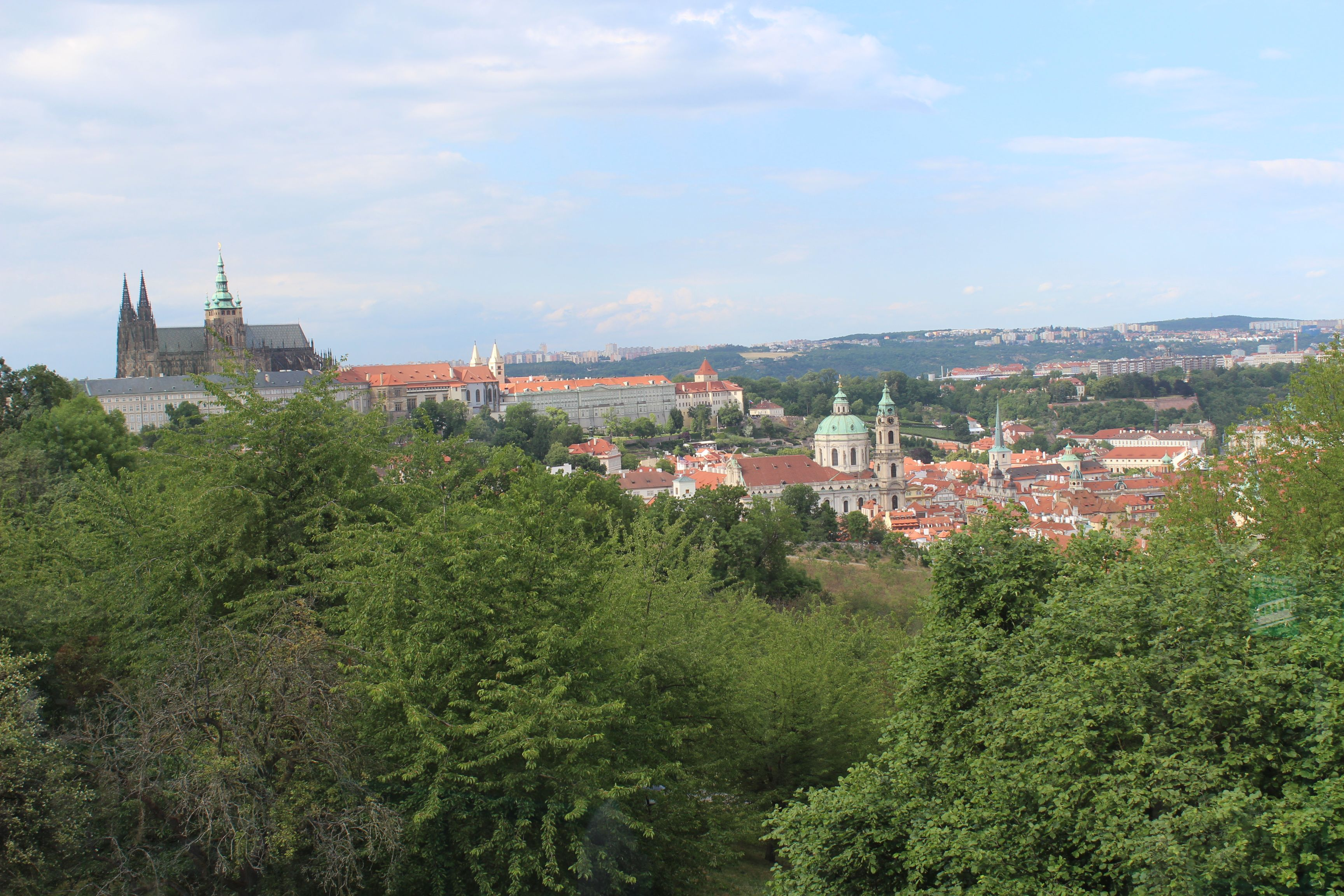 Petrin Hill and Tower, Prague