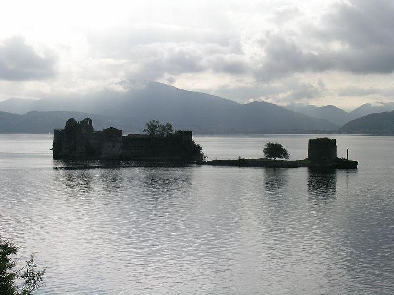Castles of Cannero, Cannobio, Piedmont, Italy