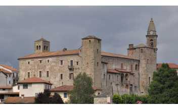 Castle of Monastero Bormida, Monastero Bormida (Asti), Piedmont, Italy