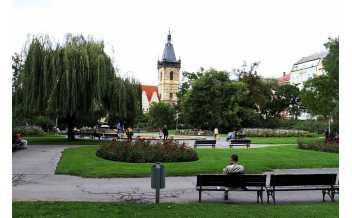 Charles Square, Prague