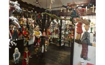 Galerie Michael, Marionette and Puppet Shop, Prague