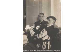 Pierre Bonnard (1867-1947) Auguste et Jean Renoir, Vers 1916, Paris, musée d'Orsay © Musée d'Orsay