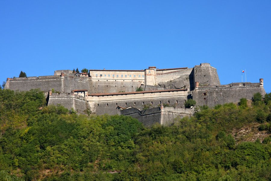 Gavi Fortress, Gavi (AL), Piedmont, Italy