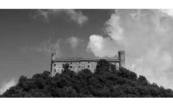 Montalto Dora Castle, Crovero Mountain, Piedmont, Italy