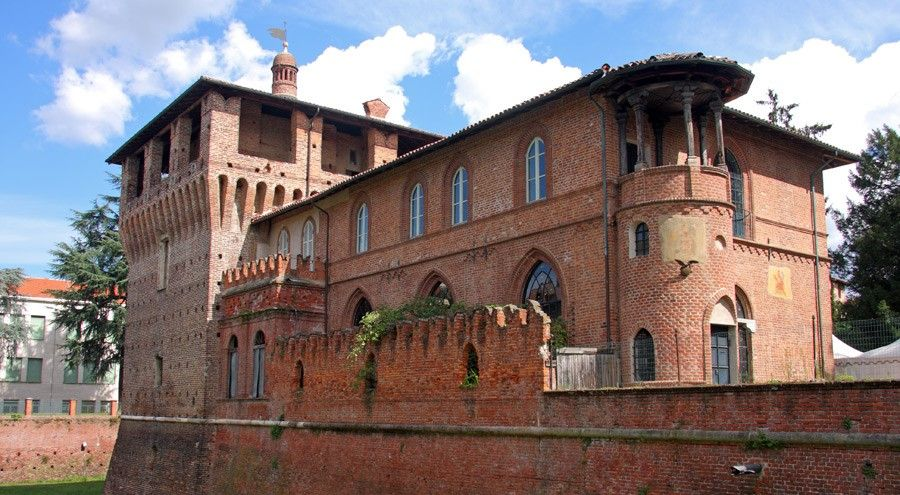 Galliate Castle, Galliate (Novara), Piedmont, Italy