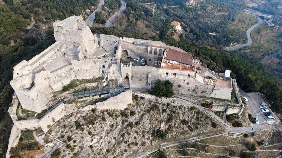 Arechi Castle, Salerno, Campania, Italy