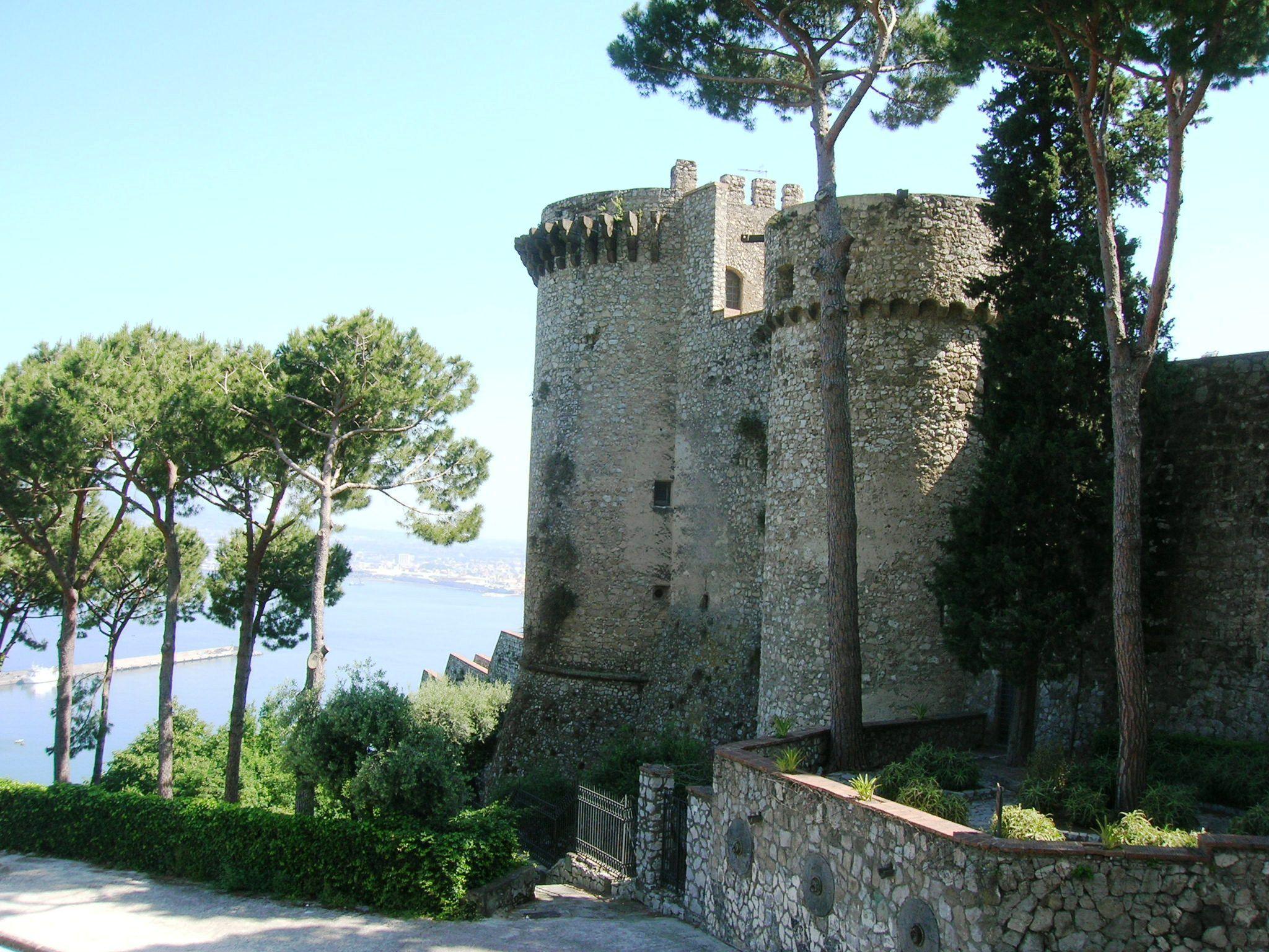 Medioevale Castle, Castellammare, Campania, Italy
