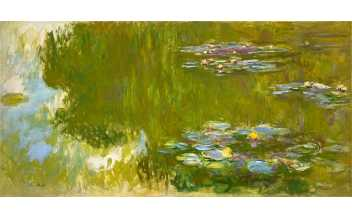 Claude Monet: The Water Lily Pond, 1917-1919, © The Albertina Museum, Vienna. The Batliner Collection