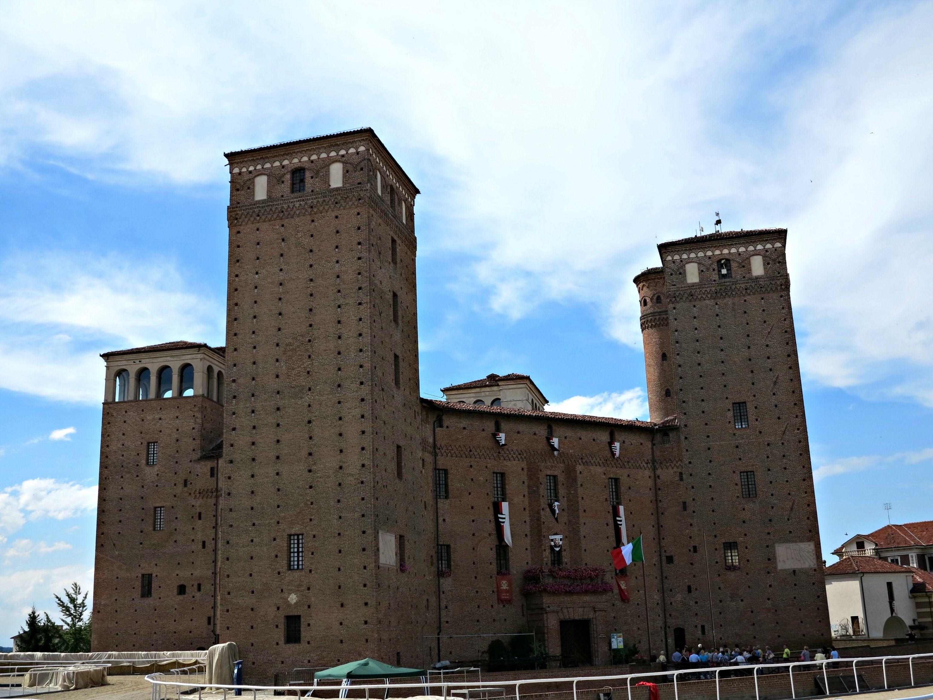 Acaja Castle, Fossano, Piedmont, Italy