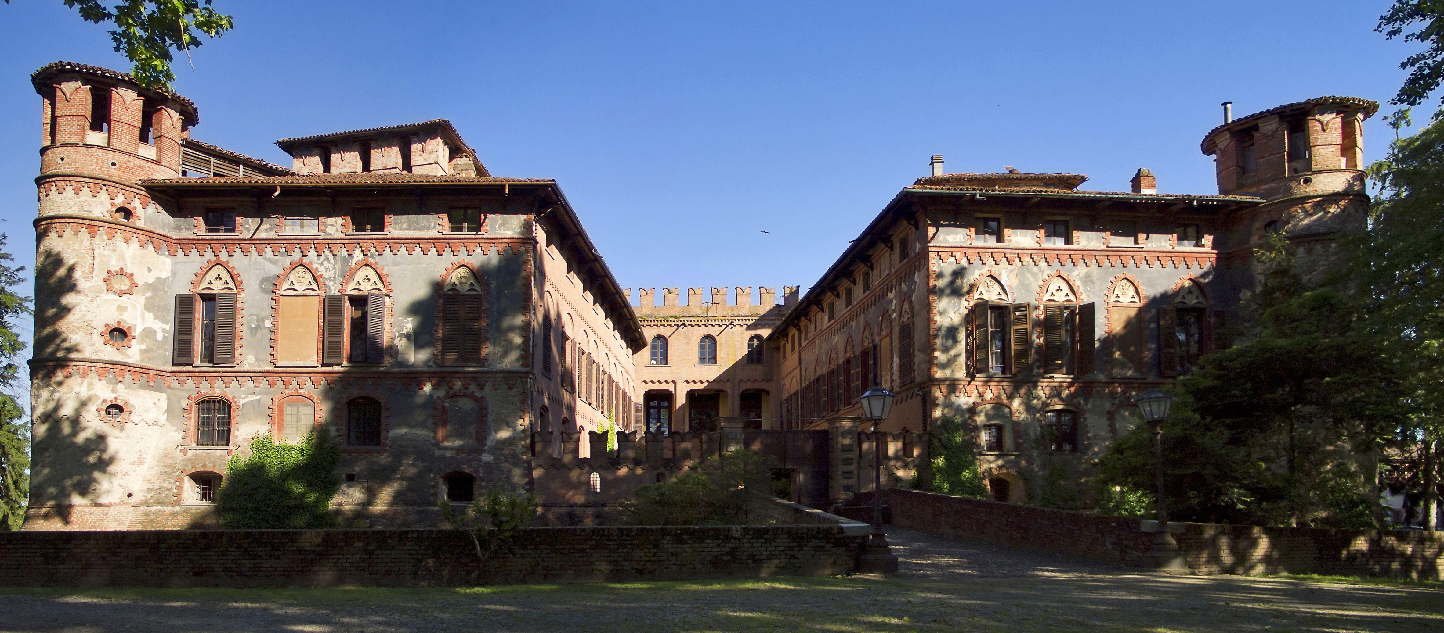 Piovera Castle, Piovera, Piedmont, Italy