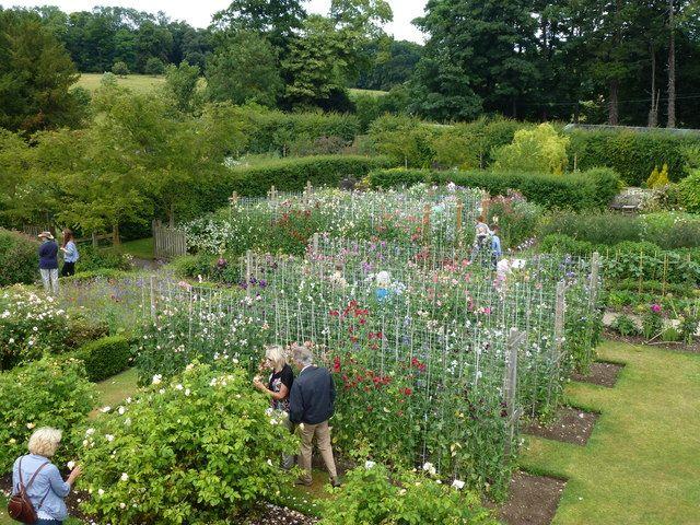 Easton Walled Gardens, Easton, Grantham, Lincolnshire, England, NG33 5AP