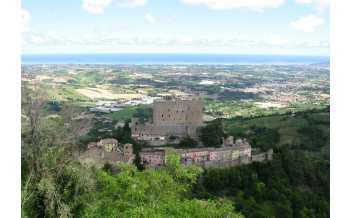 Montefiore Conca castle, Montefiore Conca, RN