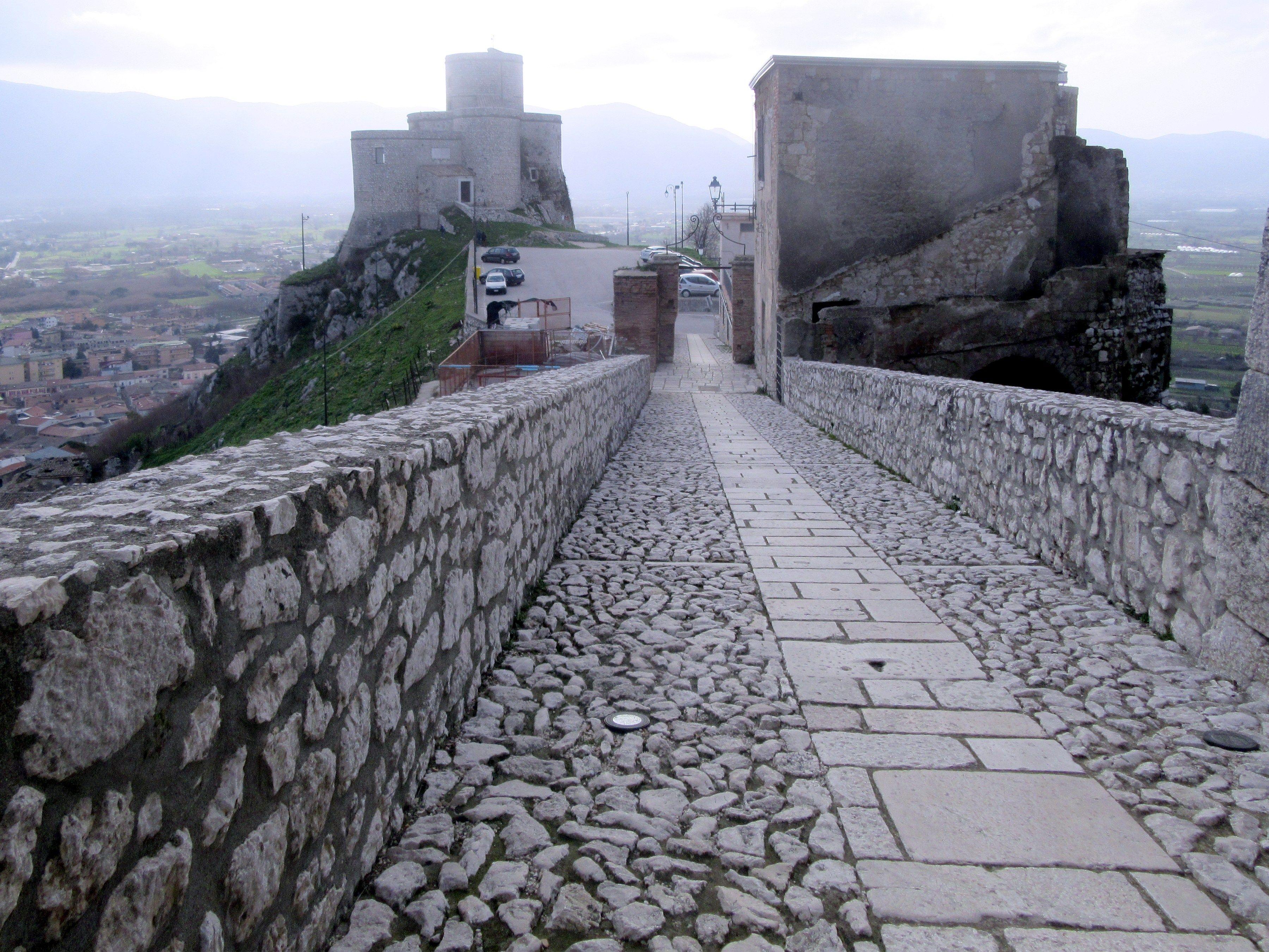 Montesarchio Castle, Montesarchio, Campania, Italy
