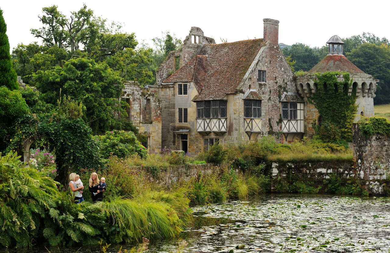 Scotney Castle, Lamberhurst, Tunbridge Wells