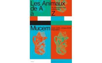 Mucem Abecedaires Animaux © Mucem / design graphique Spassky Fischer