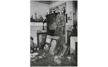 Pablo Picasso Nu dans l'atelier, 1er état B Finals de 1936 principis de 1937 Musée national Picasso Paris ©RMN-Grand Palais (Musée national Picasso-Paris) / Jean-Gilles Berizzi © Successió Pablo Picasso, VEGAP, Madrid 2019