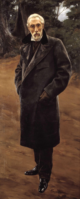 Antoni Fabrés. Autorretrato C. 1920. Barcelona, Museu Nacional d'Art de Catalunya