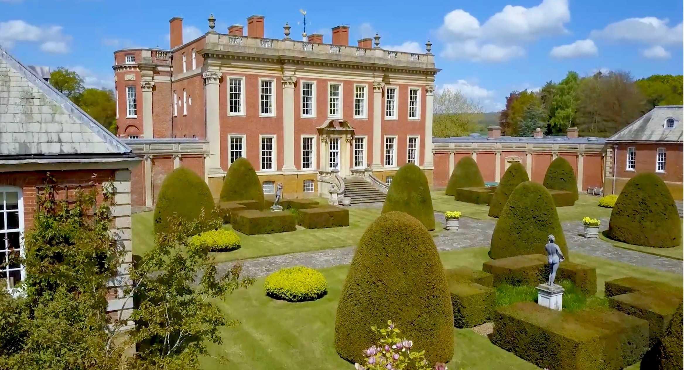 Cottesbrooke Hall, Northamptonshire, England