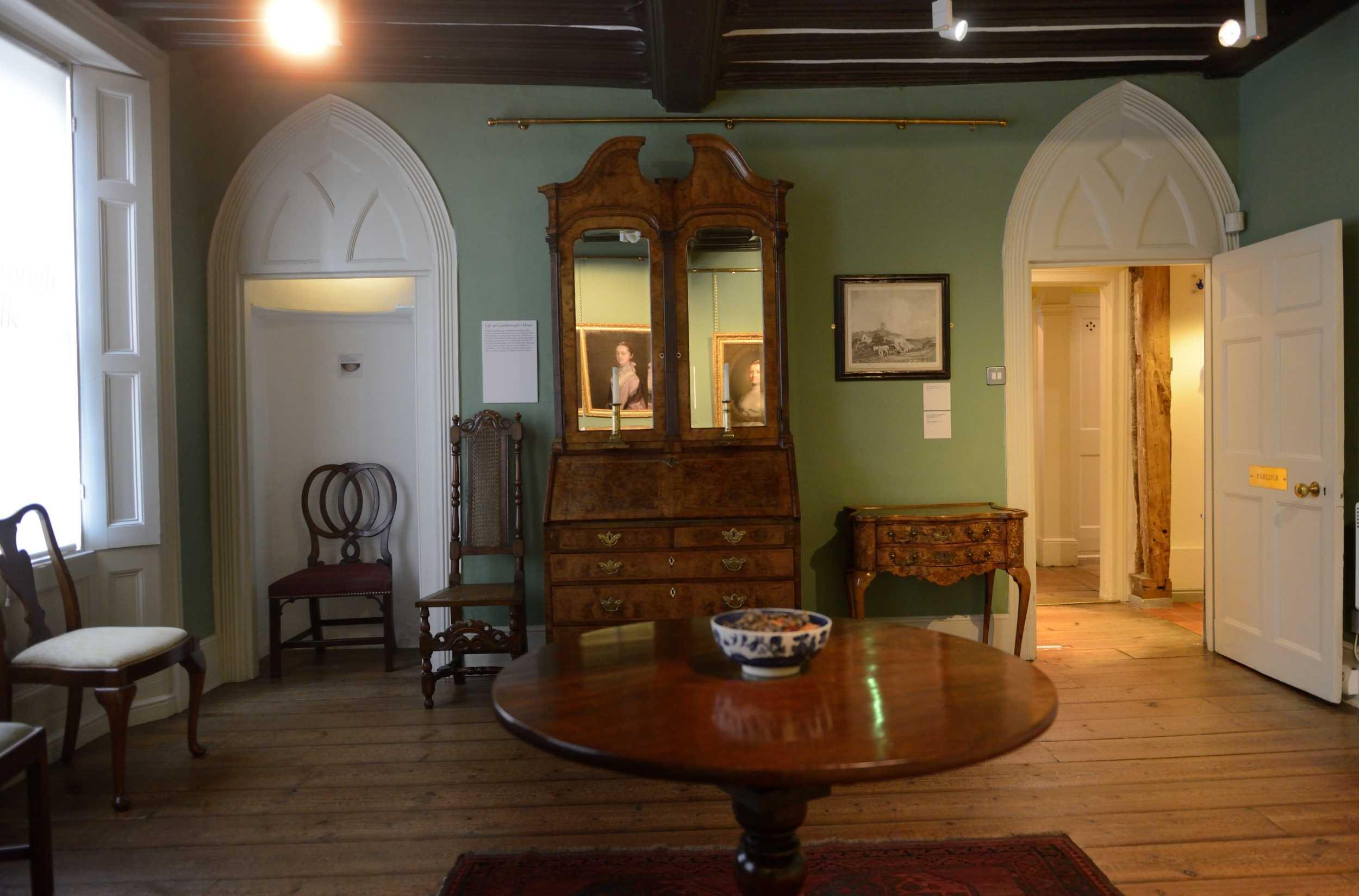 Gainsborough's House, Suffolk, England
