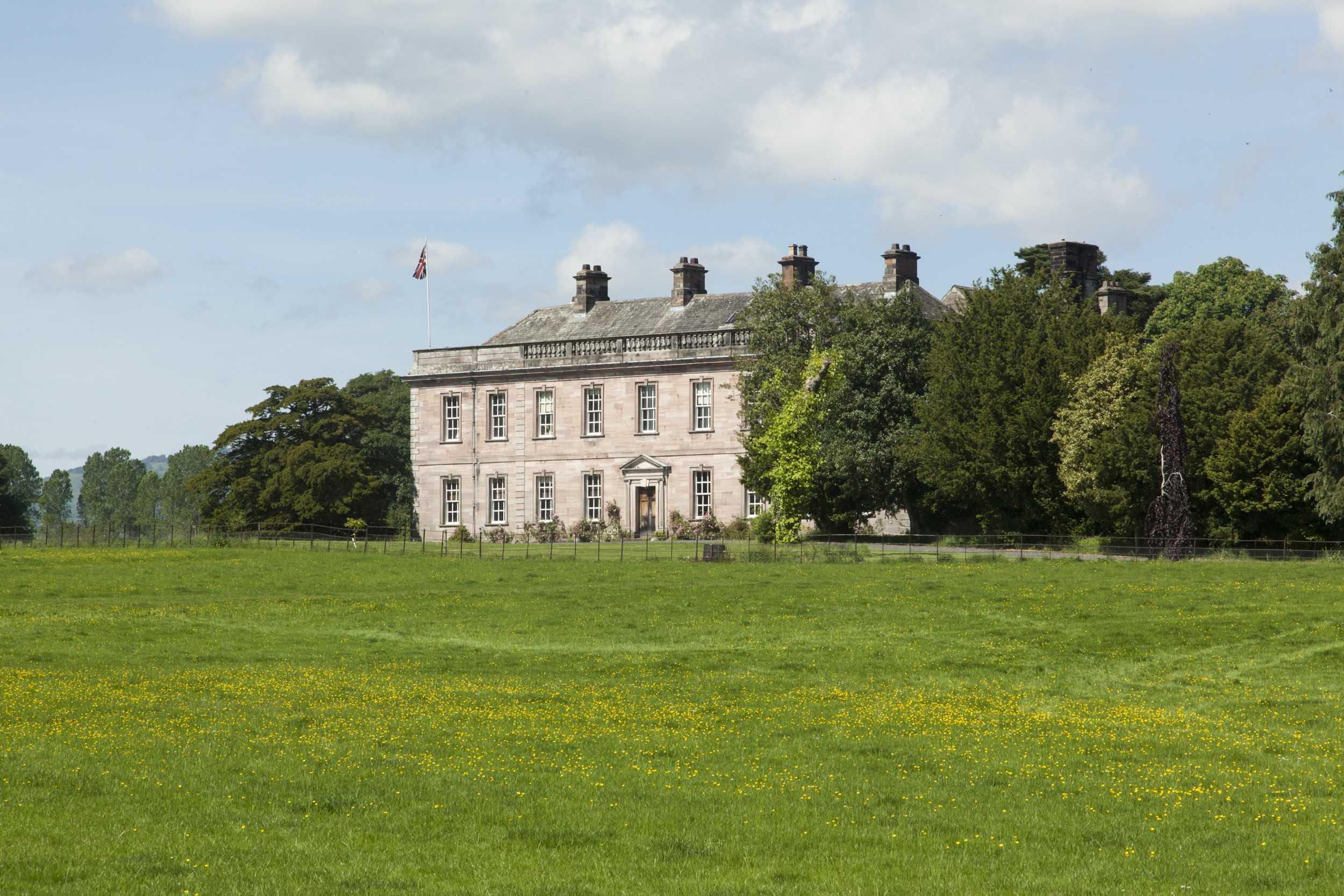 Gregynog Hall Gardens, Powys, Wales