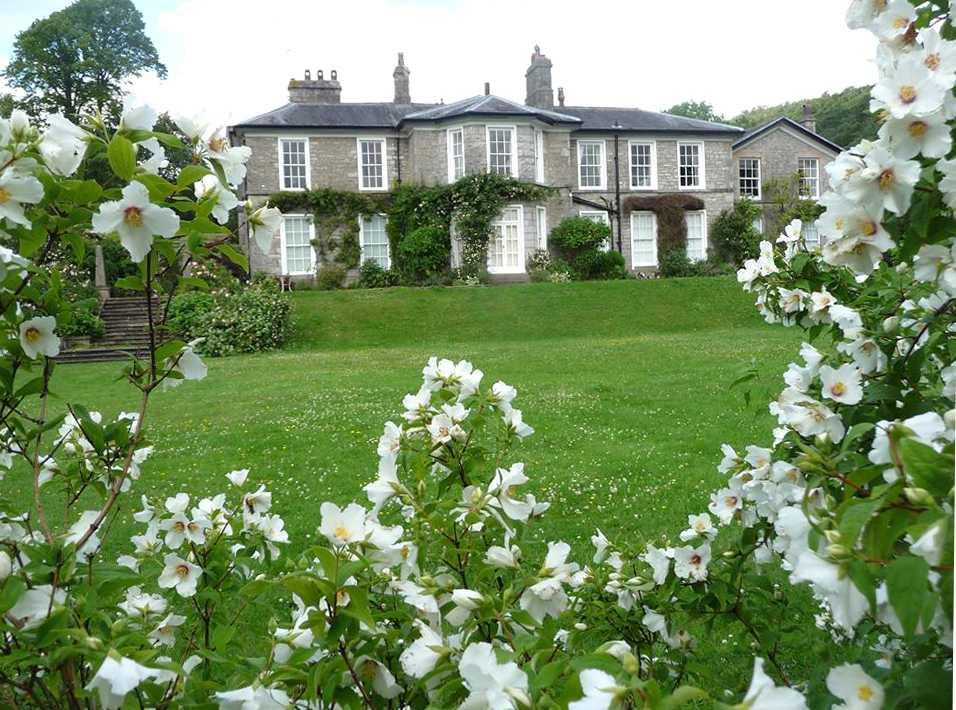 Halecat House Gardens, Cumbria, England