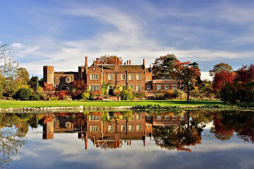 Hodsock Priory Gardens, Nottinghamshire, England