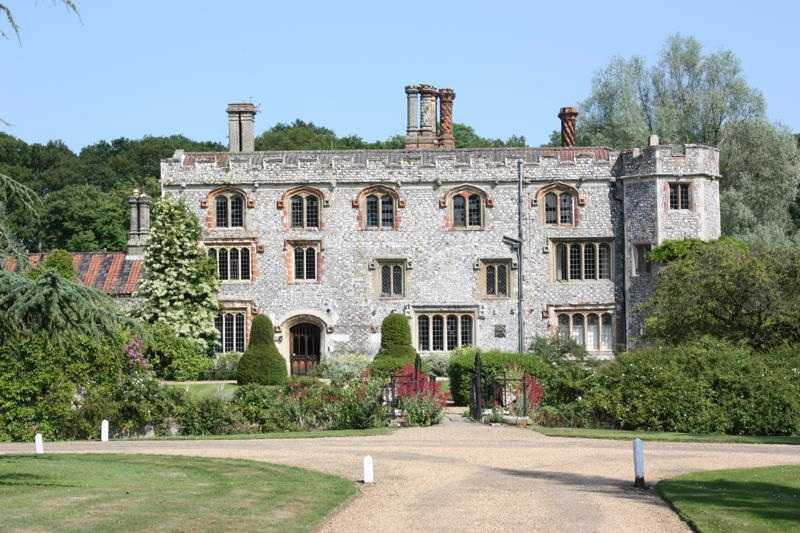 Mannington Hall Gardens, Norfolk, England