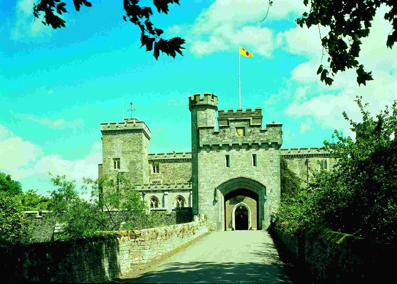 Powderham Castle, Devon, England