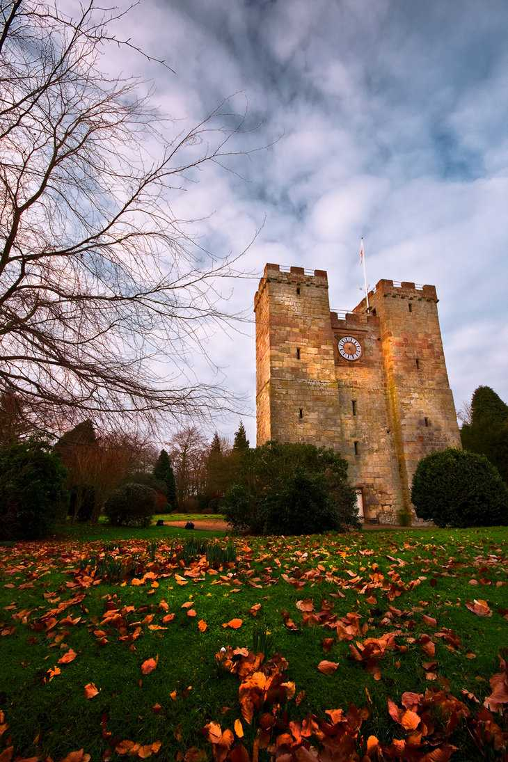 Preston Tower, Northumberland, England