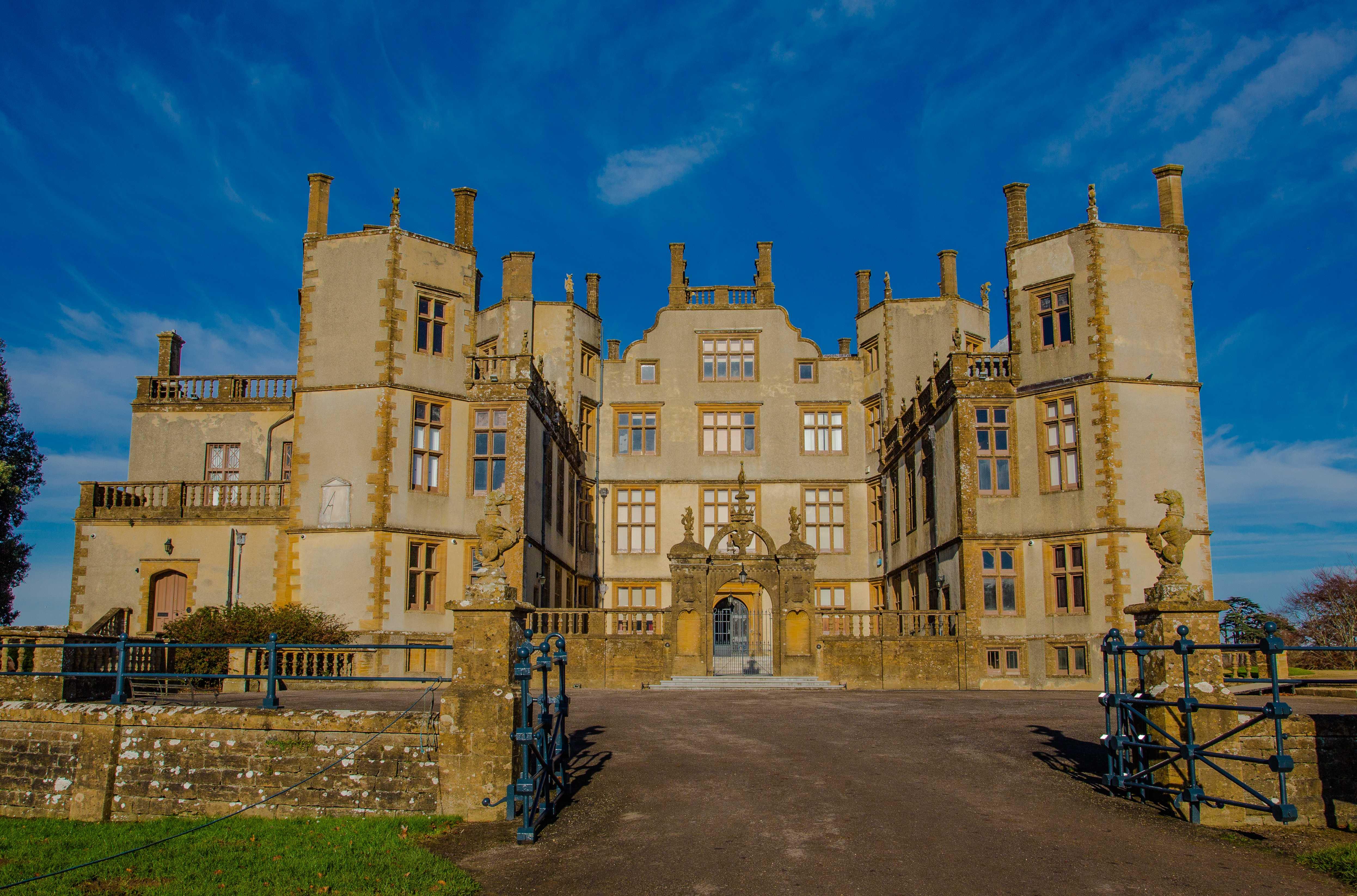 Sherborne Castle and Gardens, Dorset, England